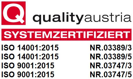 Quality-Austria-Systemzertifiziert